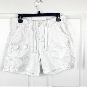 Polo Jeans Co. Ralph Lauren White Denim Shorts